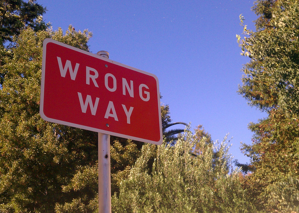 wrong way driving criminal law fargo nd